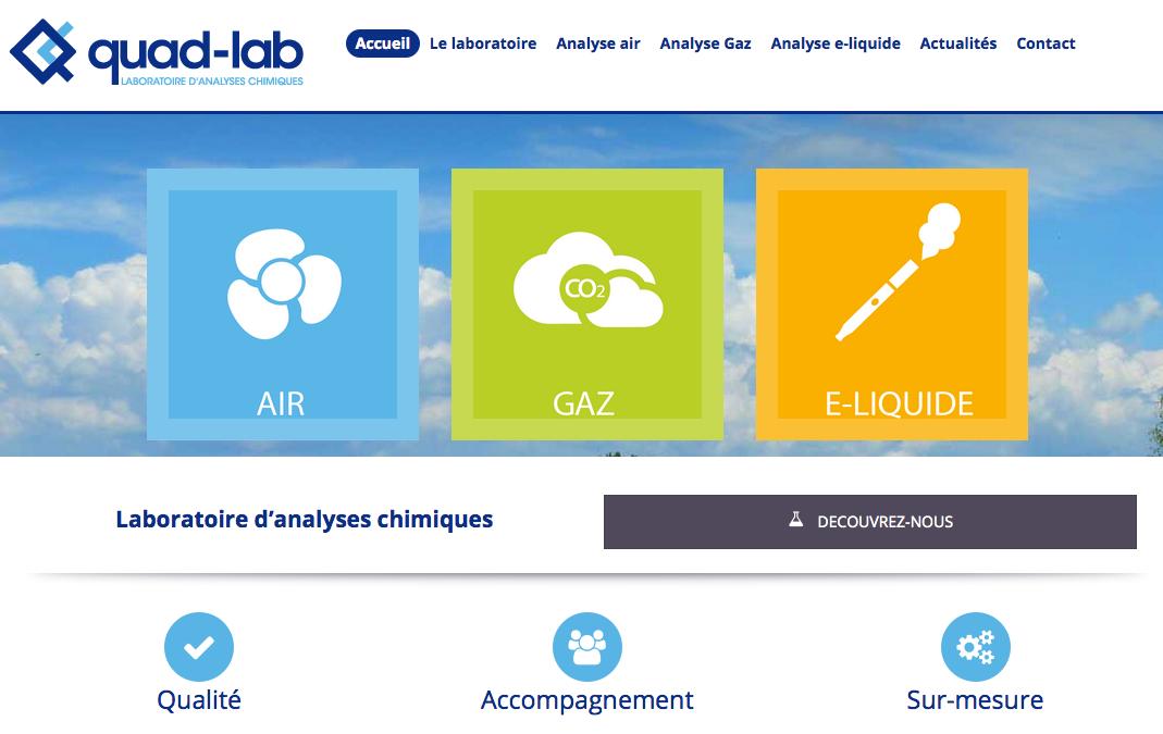 Laboratoire d'analyses chimiques Essonne Quad-Lab