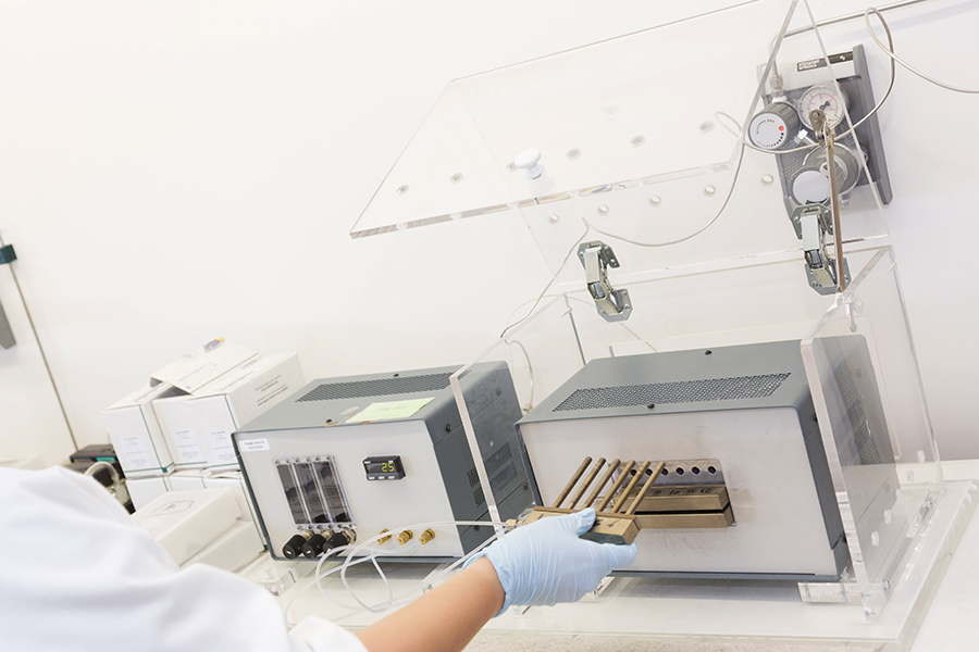 analyse air ambiant laboratoire nettoyage radiello