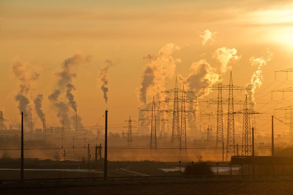 industrie ciel air pollution